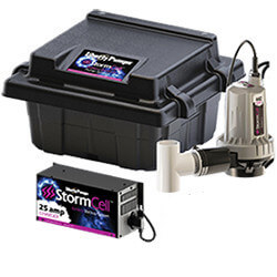 Stormcell Dual Battery Back Up Pump High Output System (25A) Product Image