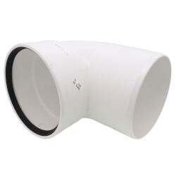 "8"" PVC SDR 35 1/4 Bend 90° Elbow, Street (Spigot x G) Product Image"