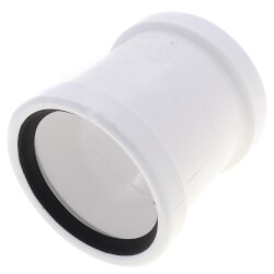 "4"" PVC SDR 35 Repair Coupling w/o Stop (G x G) Product Image"