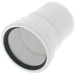"4"" PVC SDR 35 1/16 Bend 22.5° Elbow (Spigot x G) Product Image"