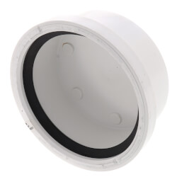 "6"" PVC SDR 35 Cap (Gasketed) Product Image"
