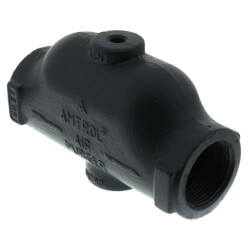 """1-1/4"""" Air Purger, 1/8"""" Threaded Vent (125 PSI, Cast Iron) Product Image"""