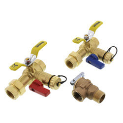 "3/4"" IPS Isolator E-X-P E2 Tankless Water Heater Valve Kit w/ PRV, 150 PSI (LF) Product Image"