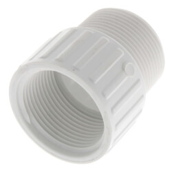 """1-1/4"""" PVC Sch. 40<br>Male x Female Adapter Product Image"""