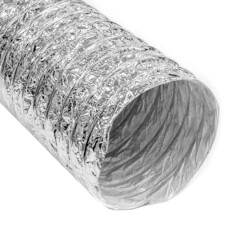 """5"""" x 25' F090 Silver Air Connector Product Image"""