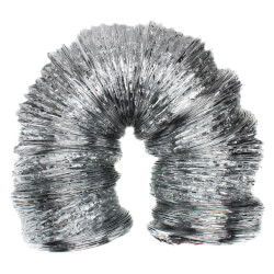 """10"""" x 25' F090 Silver Air Connector Product Image"""