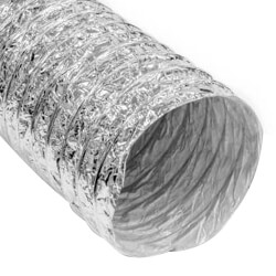 """14"""" x 25' F090 Silver Air Connector Product Image"""