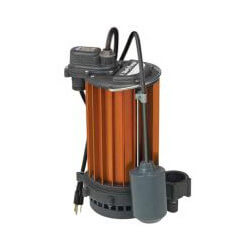 1/2 HP Model 451 Auto Submersible Sump Pump 115V, Wide Angle Float Product Image