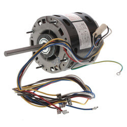 "5-5/8"" Multi-HP Direct Drive Blower Motor (1/2-1/6 HP, 115V, 1075 RPM) Product Image"