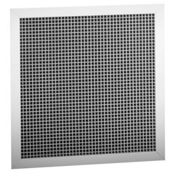 "22"" x 22"" Aluminum Egg Crate Return Grille <br>(RE5T Series) Product Image"