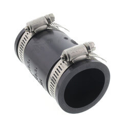 "5"" Rubber Coupling (Cast Iron or PVC to Cast Iron or PVC) Product Image"