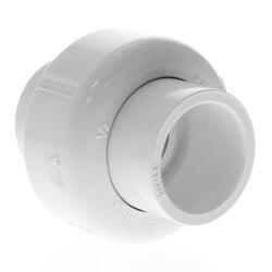 """1/2"""" PVC Sch. 40<br>Socket Union<br>w/ Buna-N O-ring Product Image"""
