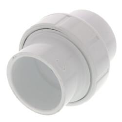 "1-1/4"" PVC Sch. 40<br>Socket Union<br>w/ Buna O-ring Product Image"