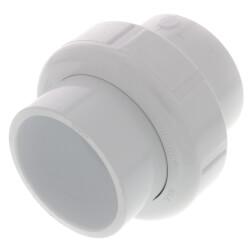 "1-1/2"" PVC Sch. 40<br>Socket Union<br>w/ Buna O-ring Product Image"