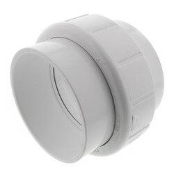 "4"" PVC Sch. 40 Socket Union w/ Buna O-ring Product Image"