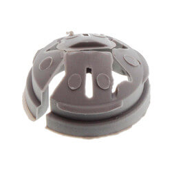 """1/2"""" NM Plastic Snap-In Hit Lock Romex Connector Product Image"""