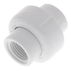 "1/2"" PVC Sch. 40<br>Female Union<br>w/ Buna O-ring Product Image"
