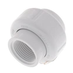 "3/4"" PVC Sch. 40<br>Female Union<br>w/ Buna O-ring Product Image"