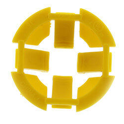 """3/4"""" Wire NM Plastic Snap-In Hit Lock Romex Connector Product Image"""