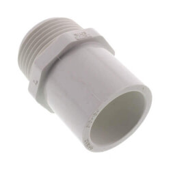 """1/2"""" PVC Sch. 40<br>Spigot x Male Adapter Product Image"""