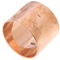 "1-1/4"" Copper<br>DWV Coupling Product Image"