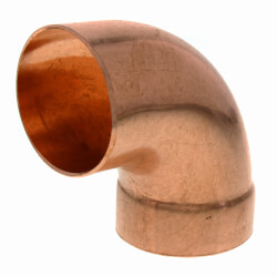 """2"""" Copper DWV<br>90° Street Elbow Product Image"""