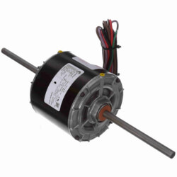 "5"" 2-Spd Fan/Blower Motor w/o Base (208-230V, 1075 RPM, 1/4, 1/8 HP) Product Image"