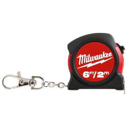 6 ft./2 m Keychain Tape Measure Product Image