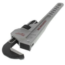 "14"" Aluminum Pipe Wrench Product Image"