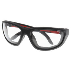 Clear High Performance Safety Glasses with Gasket Product Image