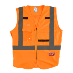 High Visibility Safety Vest- XXL/XXXL (Orange)  Product Image
