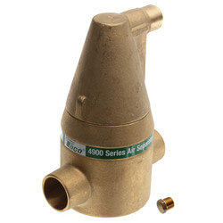"1"" Brass 4900 Series Air Separator (Sweat) Product Image"