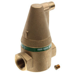 "1"" Brass 4900 Series Air Separator (Threaded) Product Image"
