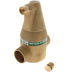 "1-1/2"" Brass 4900 Series Air Separator (Sweat) Product Image"