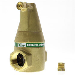 "2"" Brass 4900 Series Air Separator (Threaded) Product Image"