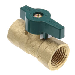 """10710 1/2"""" FNPT Gas Ball Valve Product Image"""