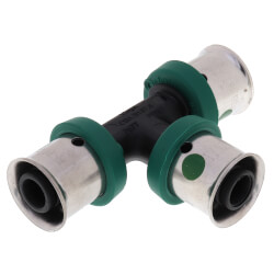 "3/8"" PEX Press<br>Polymer Tee Product Image"