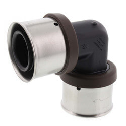 """1-1/4"""" PEX Press Polymer 90° Elbow (Lead Free) Product Image"""