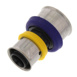 "3/4"" x 1/2"" PEX Press Polymer Coupling (Lead Free) Product Image"