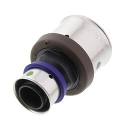 "3/4"" x 1-1/4"" PEX Press Polymer Coupling (Lead Free) Product Image"