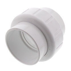 "2"" Sch. 40 PVC Socket Union w/ EPDM O-ring Product Image"