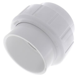 "3"" Sch. 40 PVC Socket Union w/ EPDM O-ring Product Image"