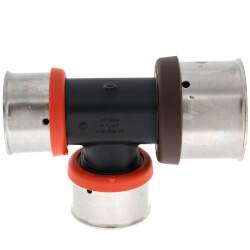 "1-1/4"" x 1"" x 1"" PEX Press Polymer Tee Product Image"