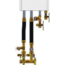 "1-1/4"" IPS Complete Near Boiler Manifold & Piping Kit for Select Combi Boilers Product Image"