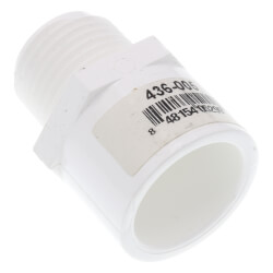 "1/2"" PVC SCH 40 Male Adapter (MIPT x Slip) Product Image"