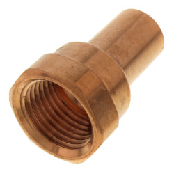 "1/2"" FTG Press x Female Copper Street Adapter Product Image"