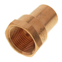"1"" FTG Press x Female Copper Street Adapter Product Image"