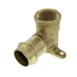 "3/4"" Press x Female Copper 90° 3 Hole Drop Ear Elbow Product Image"