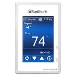 SunStat Command Programmable Thermostat Touchscreen LCD Product Image