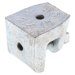 """15/16"""" - 18 Malleable Iron Beam Clamp w/ 7/8"""" Opening Product Image"""